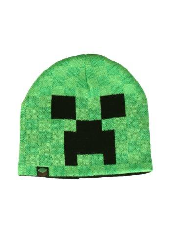 Minecraft Creeper Face Knit Beanie