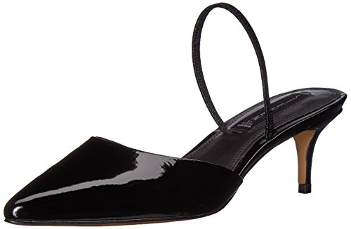 (STEVEN by Steve Madden Women's Krisp Pump, Black Patent, 8.5 M US)