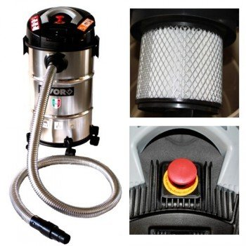 MS-Point – Aspiradora para chimeneas (Horno – Aspiradora Pellet Ashley 1000 Pro