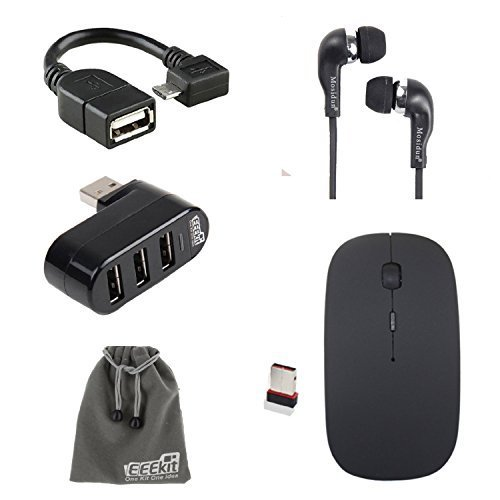 EEEKit 5in1 Office Kit for Samsung Galaxy Tab - Samsung Tab 4 Bluetooth Mouse