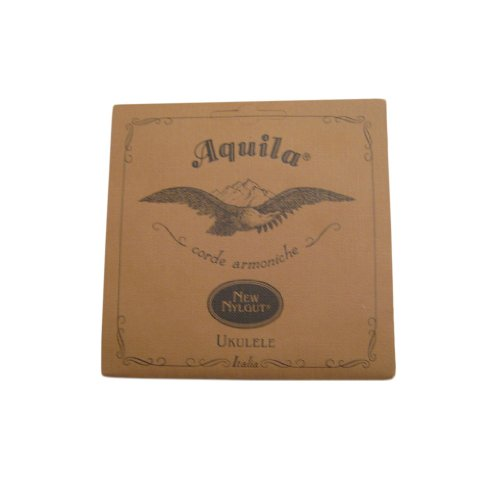 Aquila New Nylgut AQ-7 Concert Ukulele Strings - High G - 1 Set of 4