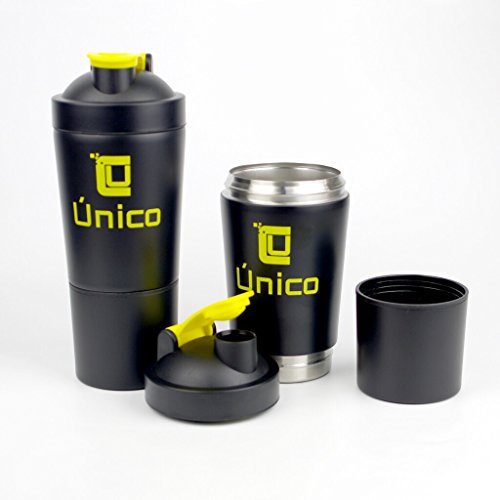 Vacuum Storage Bottles - Único Black