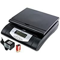 Weighmax 75 lbs. Digital Shipping Postal Scale, Black (W-4819-75 BLACK)