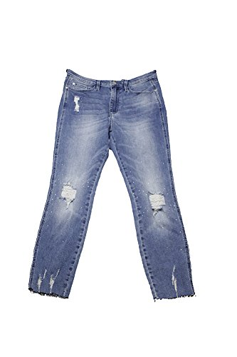 Cheap Buffalo David Bitton Womens Destroyed Embellished Ankle Jeans 8DcoDmdZ