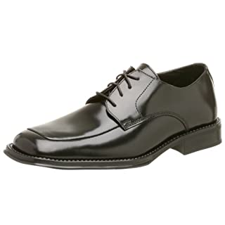 Kenneth Cole REACTION mens Sim-plicity Oxfordblack oxfords shoes, Black, 10 US