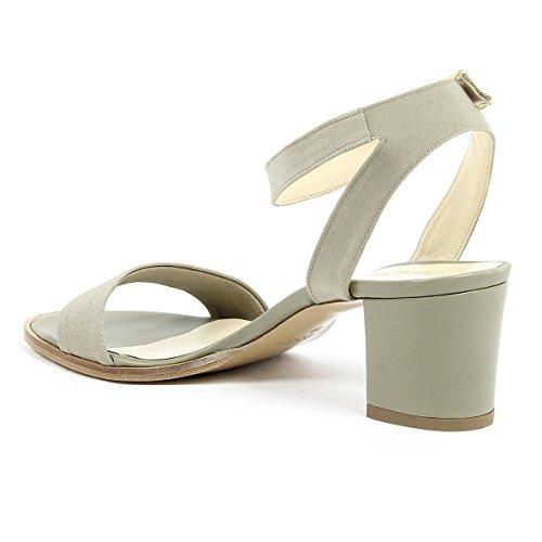 V 1969 Italia Womens Ankle Strap Sandal Green Anna