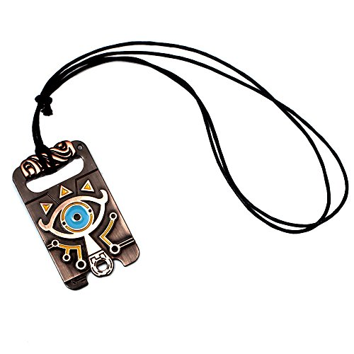 CellDesigns Enameled The Legend of Zelda Breath of The Wild Pendant (Necklace)