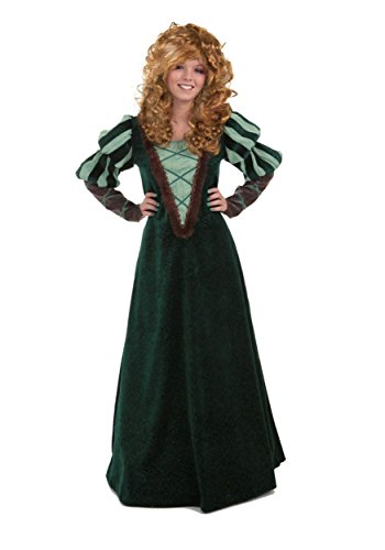 Princess Paradise Women's Forest Princess Deluxe Costume, Green, Small -