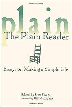Simple life essay