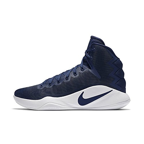 f8f4bd213d5 Galleon - Nike Men s Hyperdunk 2016 TB Basketball Shoes 844368 442 Navy  Blue Size 12