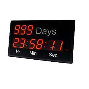 Amazon Com Btbsign 2 3 Led Digital Countdown Clock