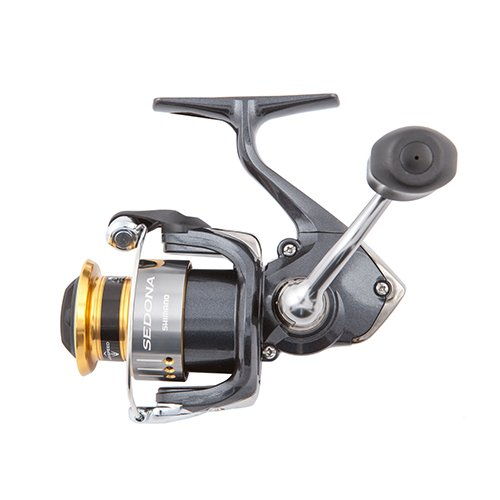 "Shimano Sedona FI Spinning 1000 Size 5.0:1 Gear Ratio 26"" Retrieve Rate Ambidextrous Clam Package Reel"