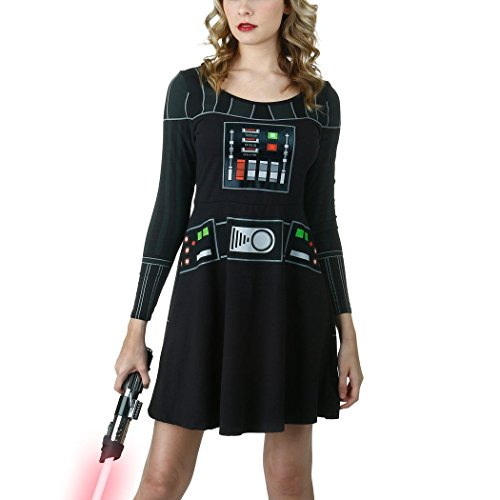 I Am Vader Skater Costume Dress-Junior Medium [JM]