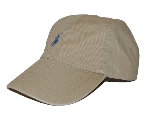 Polo Ralph Lauren Men Pony Logo Adjustable Hat Cap (One size, Nubuck)