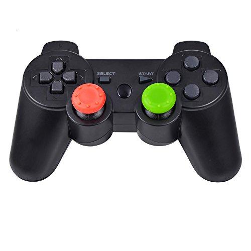 Mudder-Cubierta-Protectora-de-Apretones-de-Pulgar-de-Silicona-para-PS4-Xbox-360-PS3-Controladores-Color-mezcladoJuego-de-10