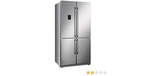 Smeg FQ60XPE Independiente 610L A+ Acero inoxidable nevera puerta ...