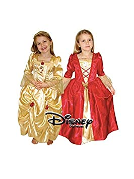 DISBACANAL Disfraz Reversible Bella Disney - -, 5-6 años: Amazon ...