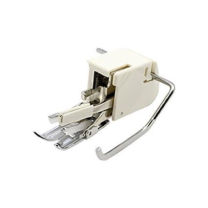 Alfa Prensatelas de doble arrastre para materiales extra gruesos, enmangue bajo, accesorio para máquina
