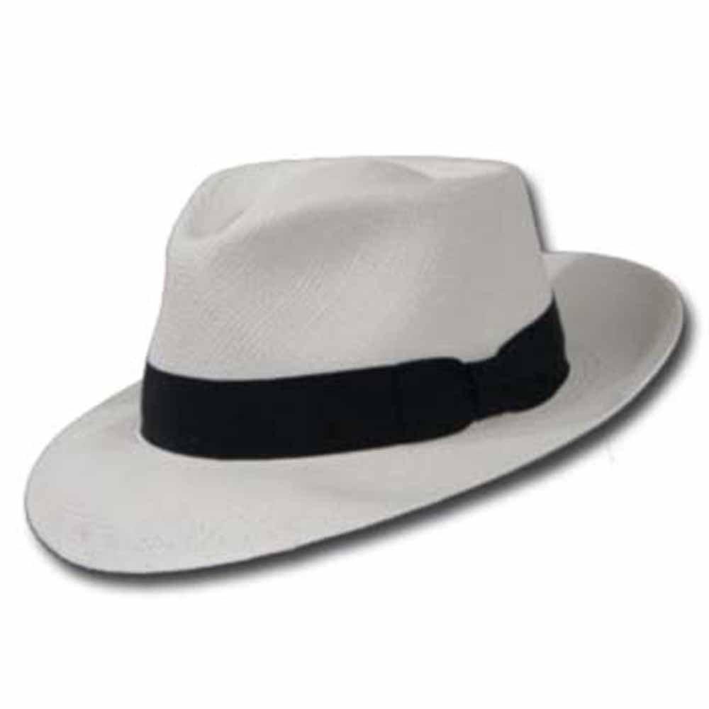 PORTOFINO RETRO Panama White Straw Hat CROWN C