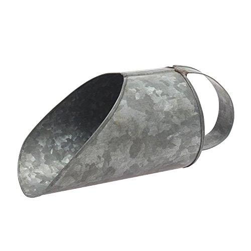 Stonebriar Aged Galvanized Metal Scoop