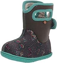 BOGS Unisex-Child Baby Waterproof Snowboot Rain Boot