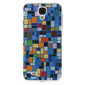 HJZ Colorful Lump Pattern Plastic Protective Hard Back Case Cover for Samsung Galaxy S4 I9500