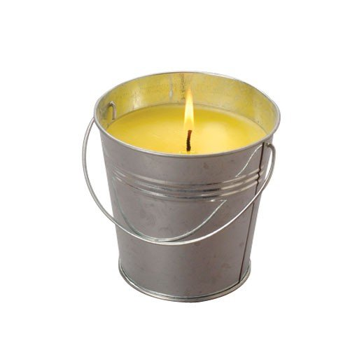 JUMBO CITRONELLA CANDLE W/TIN, Sold By Case Pack Of 9 Pieces