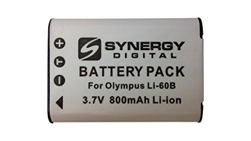 Olympus FE-370 Digital Camera Battery Lithium-Ion (3.7v, 680mAh) - Replacement for Olympus LI-60B Battery