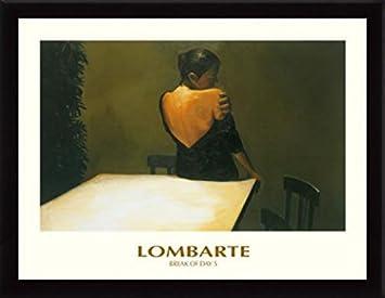Amazoncom Ramon Lombarte Poster Art Print And Frame Mdf Black