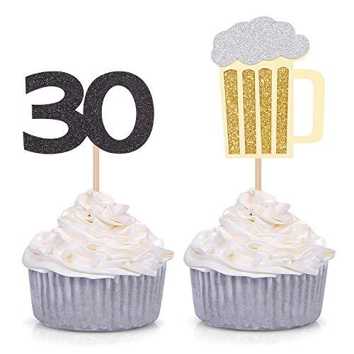 Themes For 30th Birthday (Set of 24 Beer Mug and