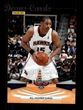 2009 Panini # 104 Al Horford Atlanta Hawks (Basketball Card) Dean's Cards 8 - NM/MT Hawks ()