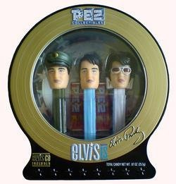 Elvis PEZ Collectibles Limited Edition plus CD by PEZ Candy
