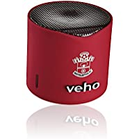 Veho Saints VSS-200-SFC-R 360 Portable Bluetooth Wireless Speaker, Red