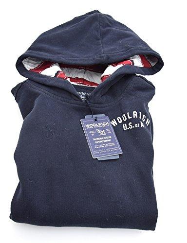 Blu Felpa Wkfel0909 Bambino Cappuccio Dark Bd60 Con Blue Cotone Woolrich Junior Scuro Art qwdSYzqxtA