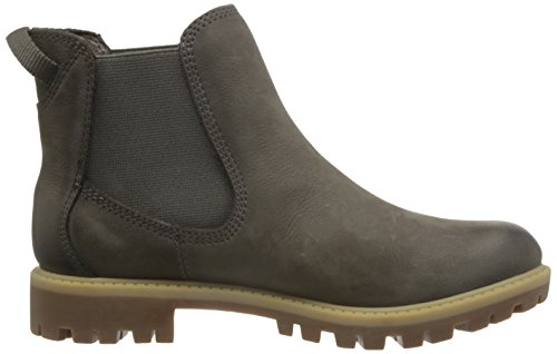 Tamaris Womens 25401 Chelsea Boots Green (cigar)