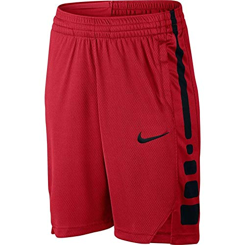 Boy's Nike Dry Elite Basketball Shorts, Size M  - Red