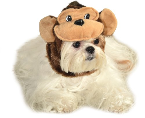 Rubie's Pet Costume Monkey Hat, Small to (Monkey Costume For Dog)