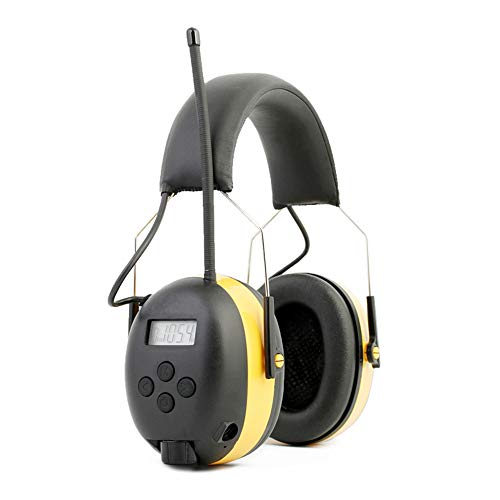 Ear Defenders Noise Reduction Soundproof Prevention Ear Muffs, Shooters Hearing Protection Ear Muffs, Adjustable Headset, Noise Cancelling Headphones , Ear Defenders Fits Adults to Kids Blue Yellow He by Xiuzhifuxie (Image #1)