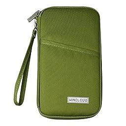 Multi-function Travel Passport Holder Credit Id Card Stash Organizer Case Bag R