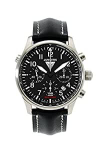 Junkers 6624-2 66242 - Reloj para hombres, correa de cuero
