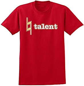 Music Notation Natural Talent - Red Rot T Shirt Größe 87cm 36in Small...