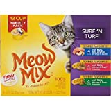 Meow Mix Market Selects – Surf 'n' Turf Variety Pack – 12×2.75 oz, My Pet Supplies