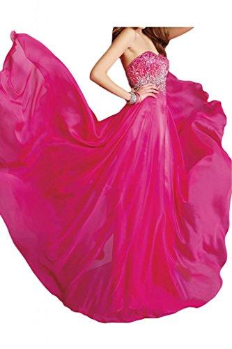 Toscana sposa Modern a forma di cuore Chiffon dal giovane sposa per una serata vestimento party Ball Bete vestimento viola 48