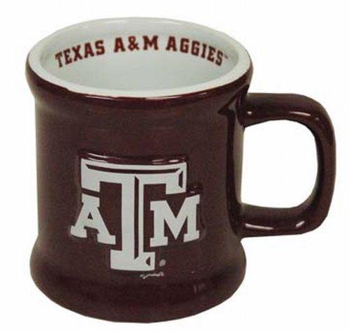 NCAA Texas A&M Aggies Mug Ceramic Relief (A&m Coffee Texas Aggies)