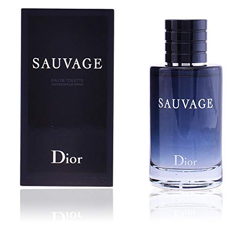 (Sauvage by Christian Dior Eau de Toilette for Men, 2 Ounce)