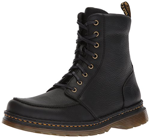 Dr. Martens Lombardo Black Fashion Boot, 7 Medium UK (8 US) (Black Shoes Grizzly)