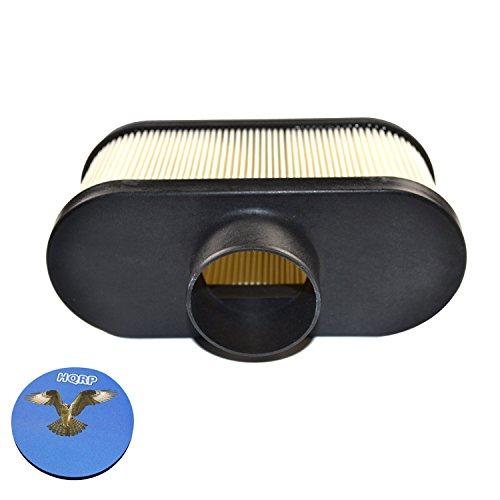HQRP Air Filter for Exmark Metro / Viking / TURF TRACER S-Series / VANTAGE S X Series / LAZER Z E-Series (LZE) Walk Behind Mower + HQRP Coaster