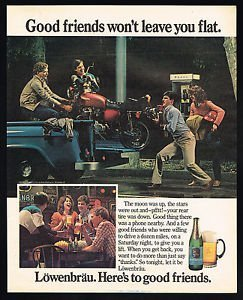 magazine-ad-for-lowenbrau-beer-1984-motorcycle-good-friends-wont-leave