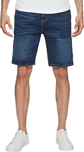 Denim Levis 505 Regular Fit (Levi's Men's 505 Regular Fit Short, Garland-Stretch, 38)