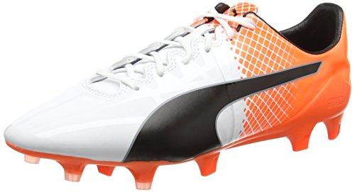 Fg Evospeed Black 1 5 Scarpe Uomo Tricks puma shocking 05 Da Calcio weiß Puma Bianco Orange White puma 6qCIdq